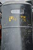 Politieschild Stock Foto's