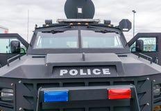 Politievrachtwagen Stock Foto