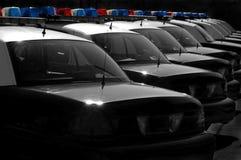 Politiewagens Stock Foto's