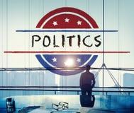 Politik-Regierungs-Referendum-Demokratie-Abstimmungs-Konzept lizenzfreies stockfoto