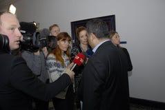 POLITIKER FÖR NASAR KHADER_CONSERVTIVE Arkivbilder