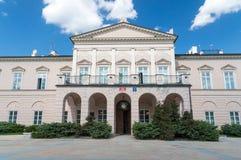 Politikwissenschaftslehrkörper bei Maria Curie-Sklodowska University am Lubomirski-Palastgebäude in Lublin Stockfotos
