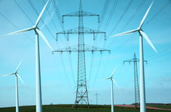 Politique énergétique Photographie stock