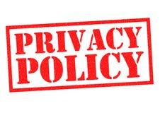 Politique de confidentialité illustration libre de droits