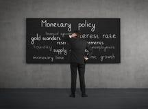 politique monétaire Photos stock