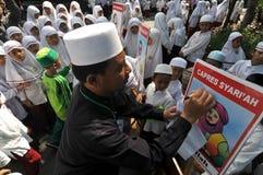 Politische Bildung für Kinder Stockbild