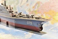 Politische Karte der militärischer Ausrüstung lizenzfreie stockfotos