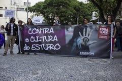 Politische Krise in Brasilien Stockfotos