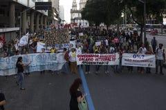 Politische Krise in Brasilien Stockfoto