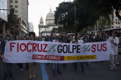 Politische Krise in Brasilien Lizenzfreie Stockfotografie