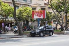 Politische Propaganda, Vietnam lizenzfreie stockfotos