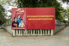 Politische Propaganda, Vietnam stockbild