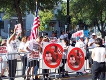 Politische Protestierender Lizenzfreie Stockfotografie