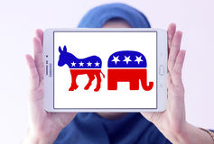 Politische Symbole USA-Wahl Stockfotos