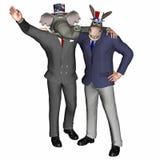 Politisches Team 1 Stockfoto