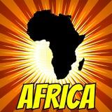 politisk africa kontinental översikt vektor illustrationer