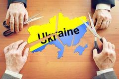 Politisk kris i Ukraina Arkivbilder