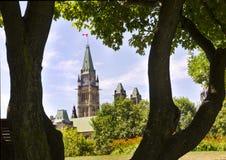 politisk park Royaltyfria Bilder