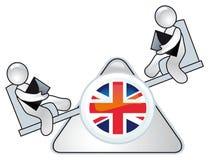 politisk stor livstid för britain befruktning Arkivfoto