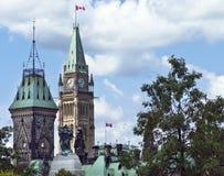politiska torn Arkivfoto