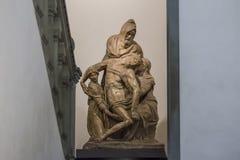 Politowania Michelangelo buonarroti stary zdjęcie royalty free