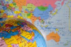Polityczna geografia Fotografia Royalty Free