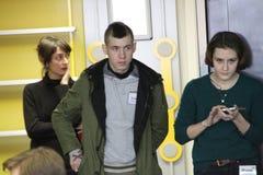 Polityczny aktywista Matvei Krylov obraz stock
