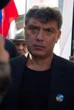 Polityk Boris Nemtsov zdjęcie royalty free
