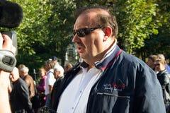 Polityk Gennady Gudkov zdjęcia royalty free