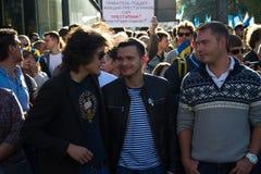 Polityk Ilya Yashin zdjęcia stock