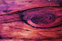 Poliuretano en la madera oscura 2 Imágenes de archivo libres de regalías
