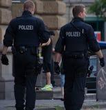 Polizei Photos libres de droits