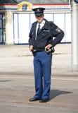 Polizei auf Prinsjesdag Lizenzfreie Stockfotos