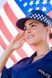 Polizei begrüßt Lizenzfreie Stockbilder