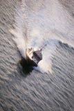 Polizei-Boot Stockfoto
