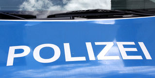 Polizei car Stock Photos