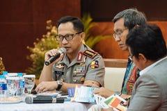 Polizei-General Tito Karnavian Lizenzfreies Stockfoto