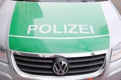 Polizei Stock Photo