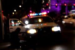 Polizei hält fest Stockbild