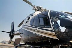 Polizei-Hubschrauber Lizenzfreie Stockfotos