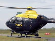 Polizei-Hubschrauber Stockfotografie