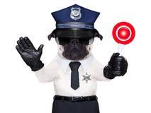 Polizei-Hund Lizenzfreies Stockfoto