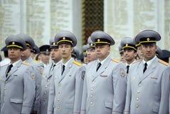 Polizei ist ein Teil des vereinheitlichten zentralisierten Systems des Innenministeriums der Russischen Föderation Lizenzfreies Stockbild