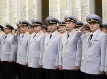 Polizei ist ein Teil des vereinheitlichten zentralisierten Systems des Innenministeriums der Russischen Föderation Stockfotos