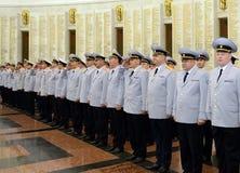 Polizei ist ein Teil des vereinheitlichten zentralisierten Systems des Innenministeriums der Russischen Föderation Lizenzfreie Stockbilder