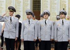 Polizei ist ein Teil des vereinheitlichten zentralisierten Systems des Innenministeriums der Russischen Föderation Stockbild