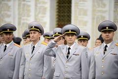 Polizei ist ein Teil des vereinheitlichten zentralisierten Systems des Innenministeriums der Russischen Föderation Lizenzfreie Stockfotografie