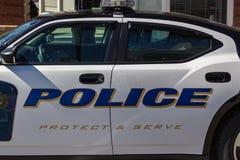 Polizei-Kreuzer lizenzfreies stockbild