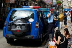 Polizei in Macao Lizenzfreies Stockbild