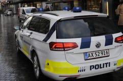 POLIZEI MACHT HERUM Lizenzfreie Stockbilder